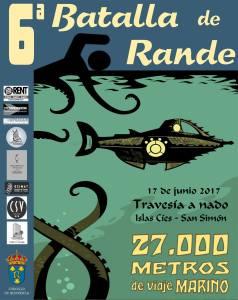 Cartel 6 Batalla de Rande